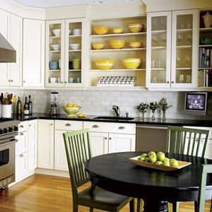 Yellow and White Kitchen Ideas come alive