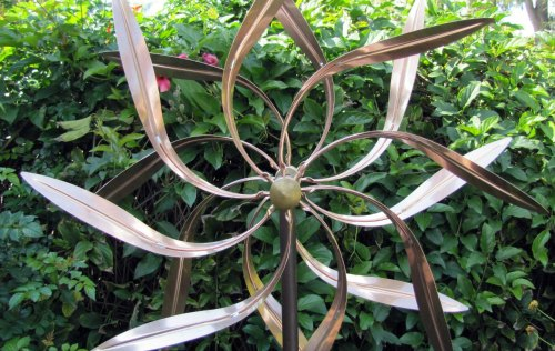 Garden Metal Wind Spinner 2