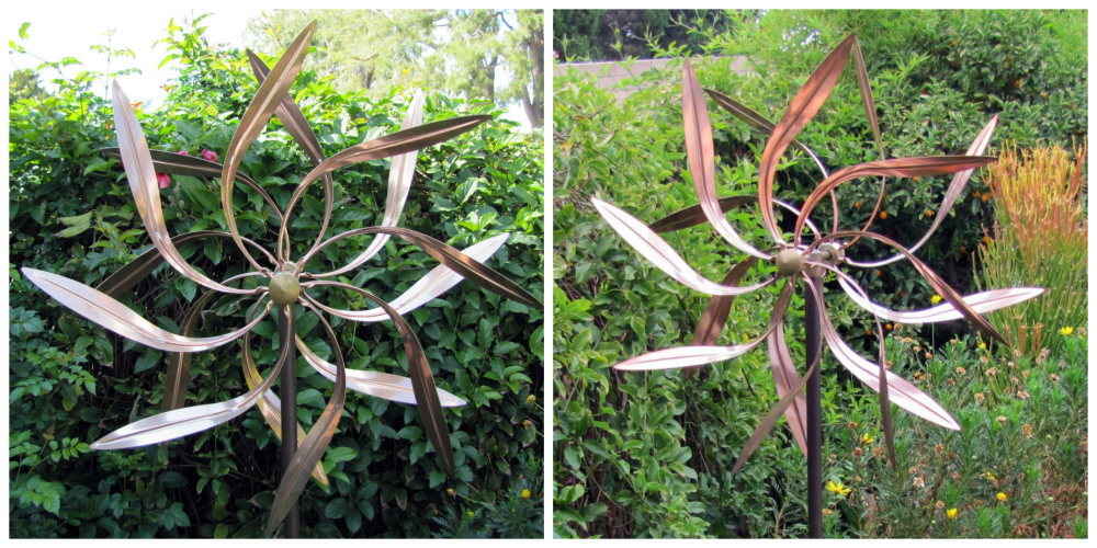 Garden Metal Wind Spinner