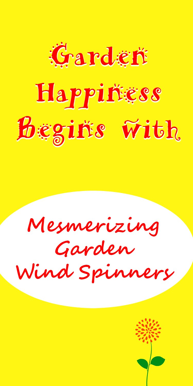 Garden Metal Wind Spinners bring calmness and pleasure to any garden. Relax while watching your garden metal wind spinners mesmerize you.
