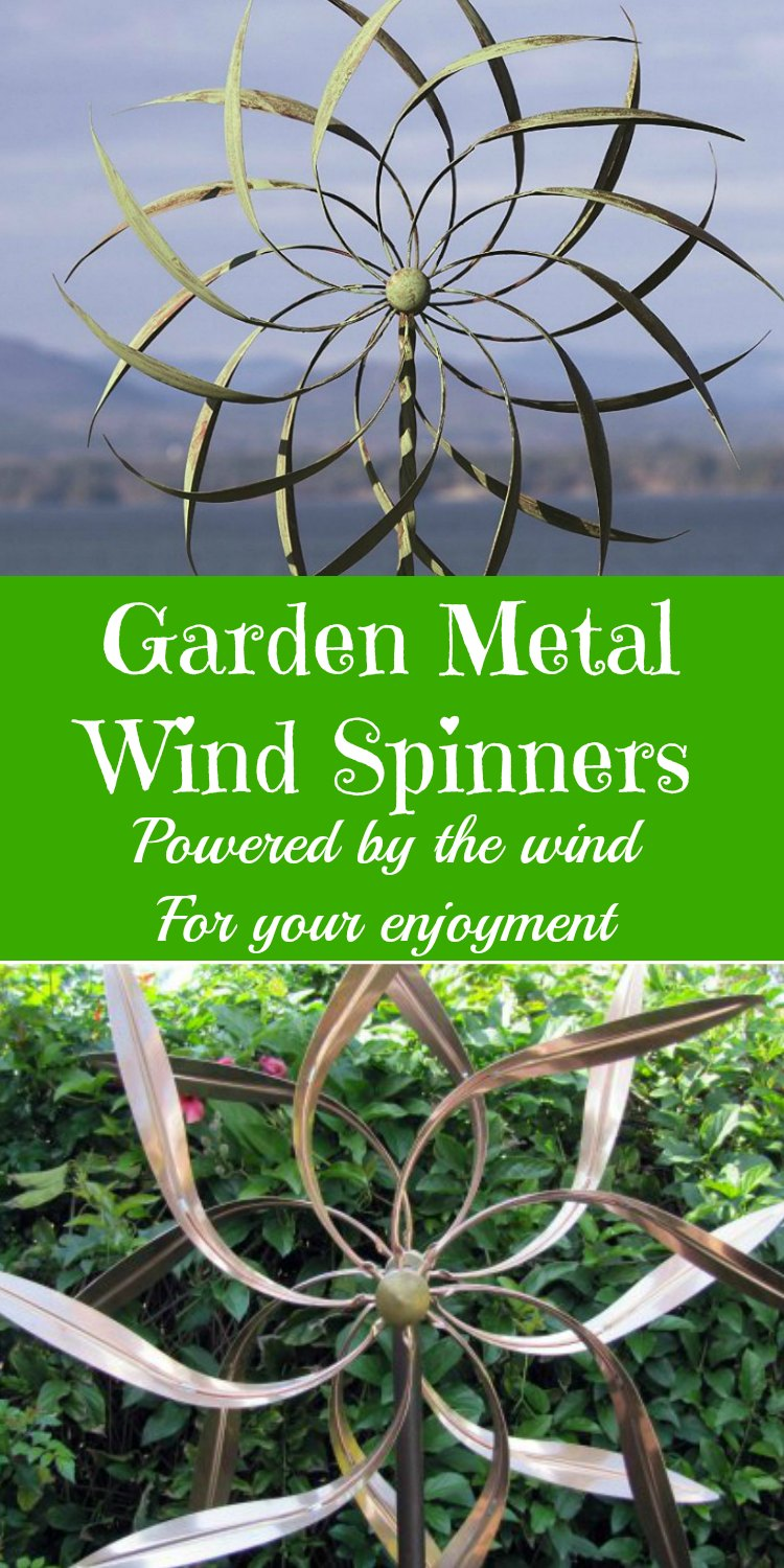 garden metal wind spinners