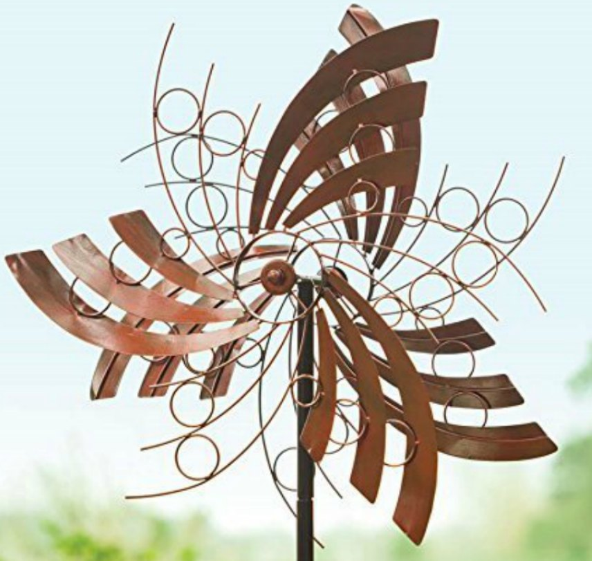 Garden Wind Spinners Metal 2