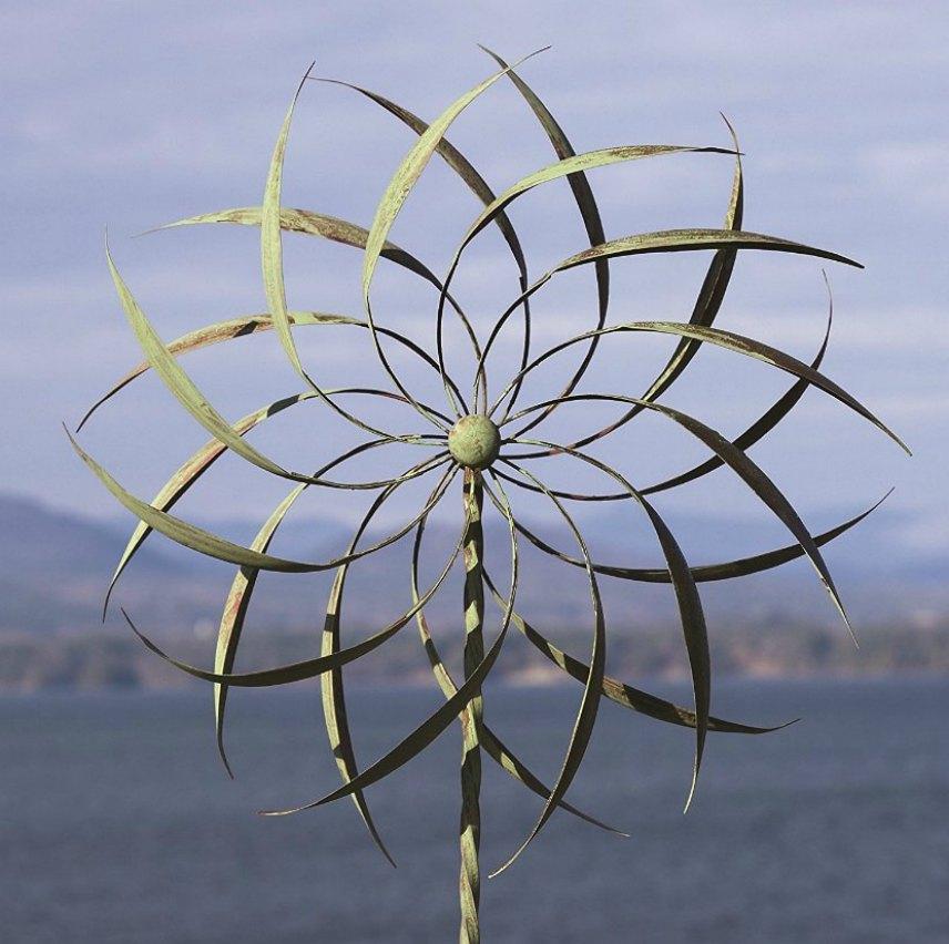 Metal Wind Spinners Garden