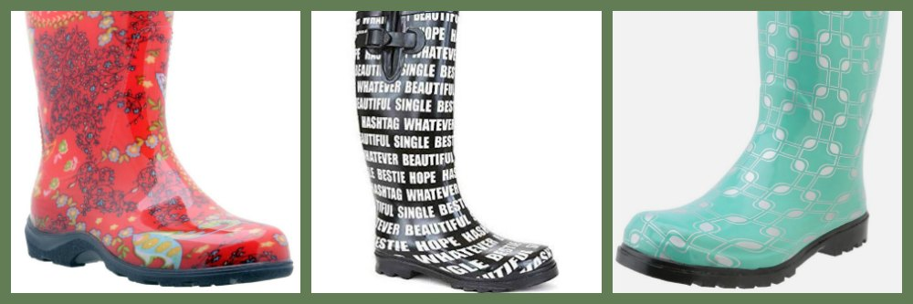Unique Rain Boots for Women