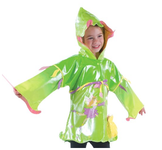 Kidorable Fairy Rain Coat with matching boots