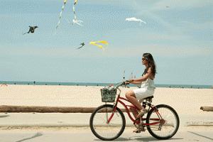 Enjoy A Beach Cruiser Bike