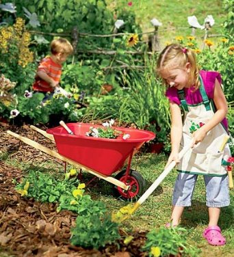 children gardening - Fresh Kitchen Set Kid