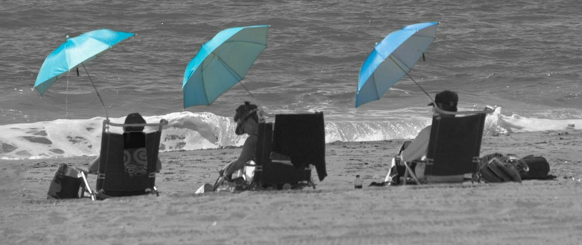 Large Beach Umbrella family