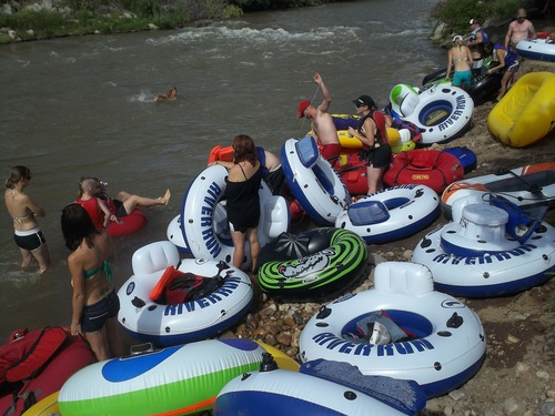 river raft memories
