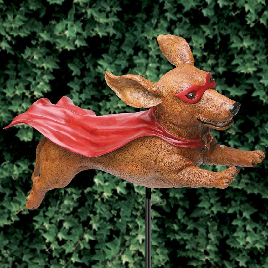 Dog Welded Metal Garden Sculpture