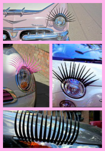 Headlight Eyelashes for Cars