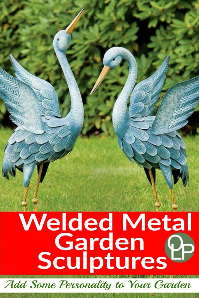 Metal Bird Yard Decor
