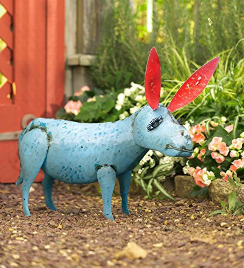 Recycled Metal Yard Art Animals
