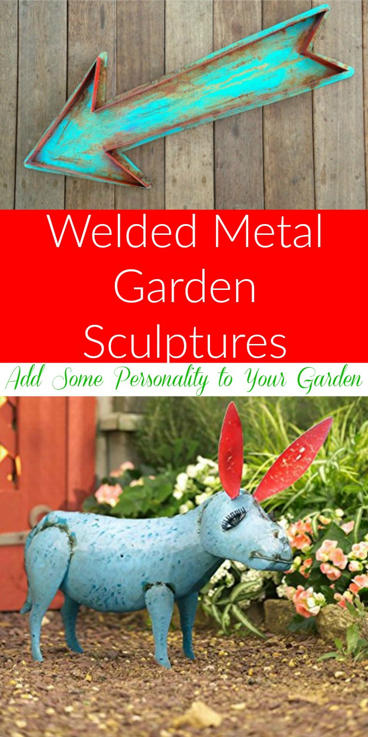 Welded Metal Garden Sculptures