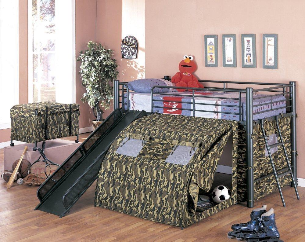 How to create a kids camo bedroom for Camo kids room