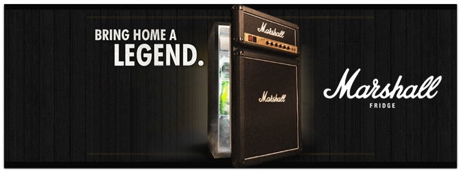 Perfect Man Cave Fridge - The Marshall Fridge
