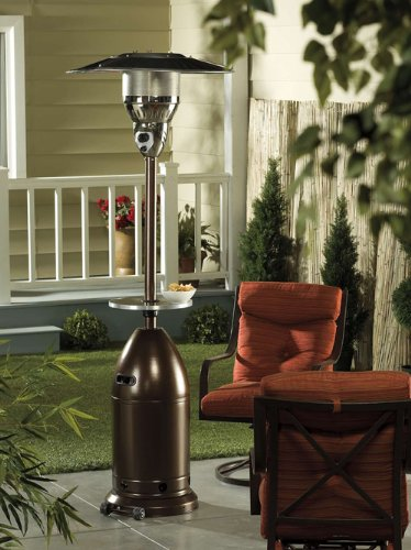 outdoor standing propane heater