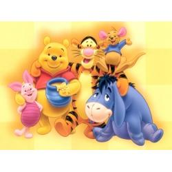 winnie the poo nursery decor