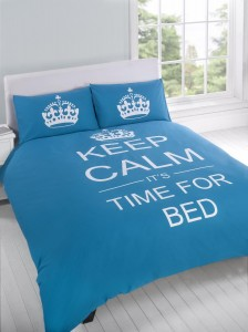 Keep Calm Bedding