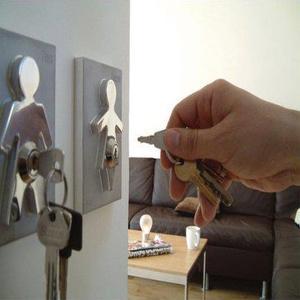 Couple Human Key Holders (set of 2)