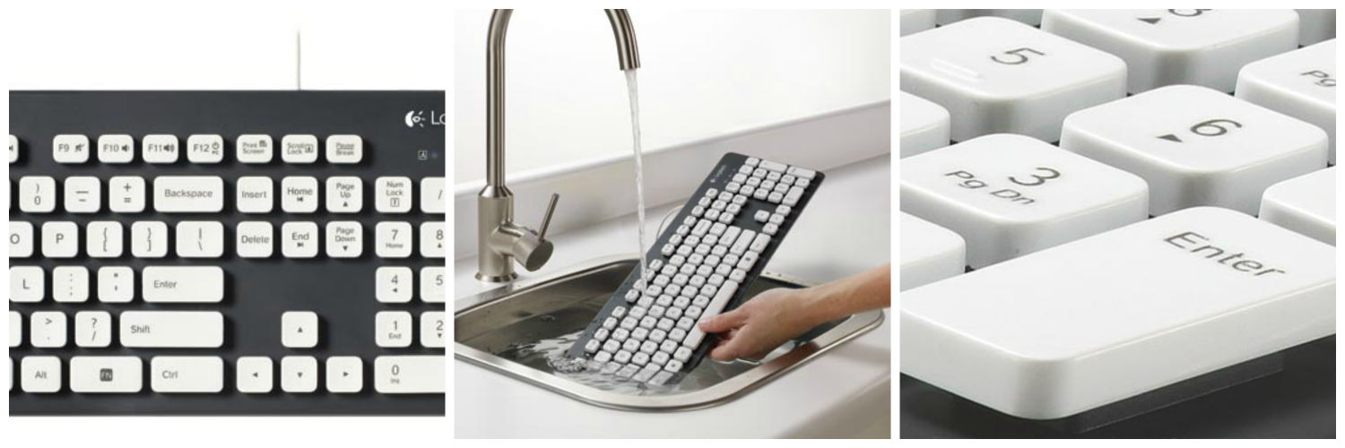 Logitech Waterproof Keyboard