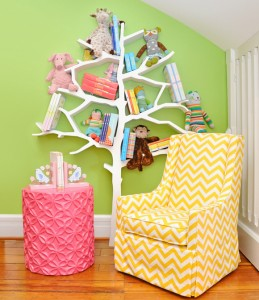 Beautiful Tree Bookcase