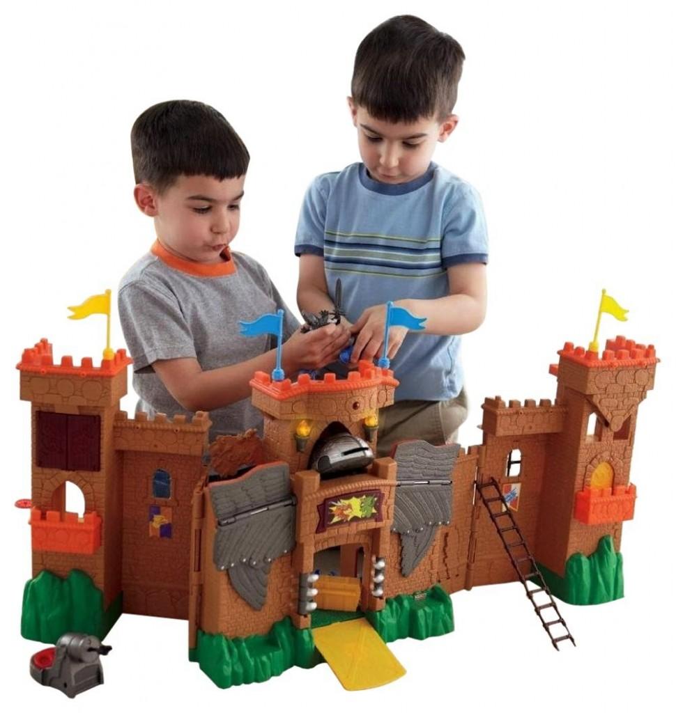 Toy Castles For Little Boys : Boys castle playset