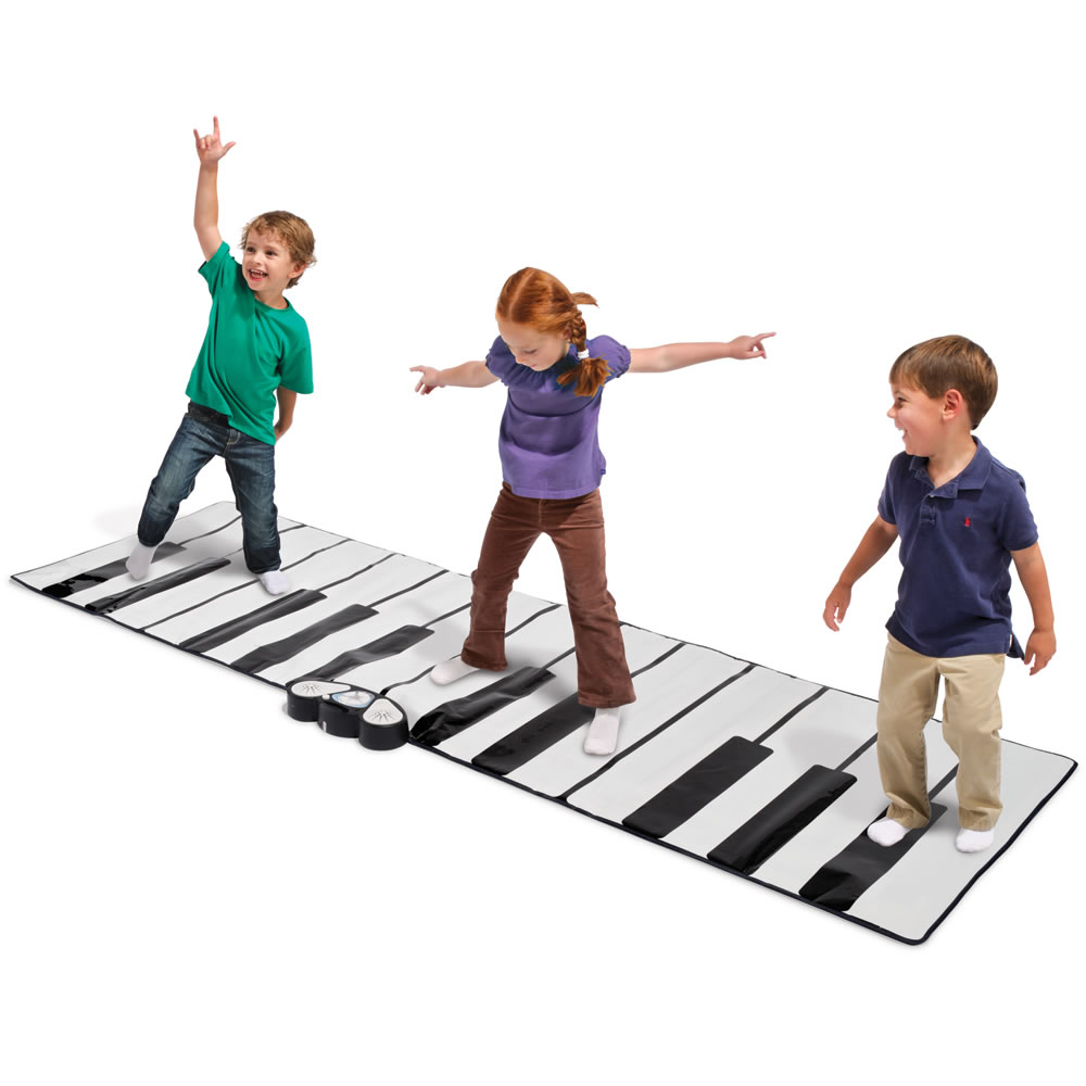 Giant Floor Piano Play Mat with Speaker Plug-in