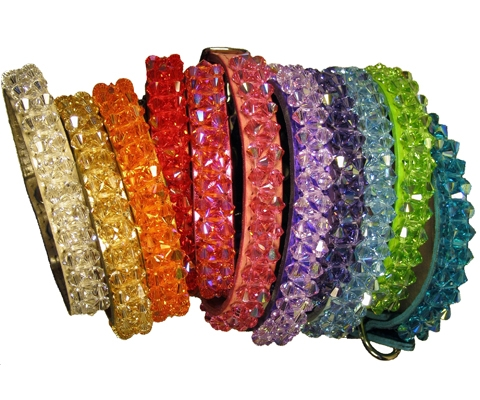 Pampered Dog Collars with Bling