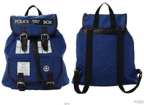 Doctor Who Purses, Bags and Backpacks
