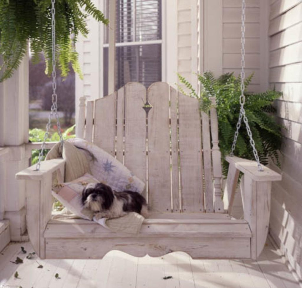 Nantucket Patio and Porch Swing