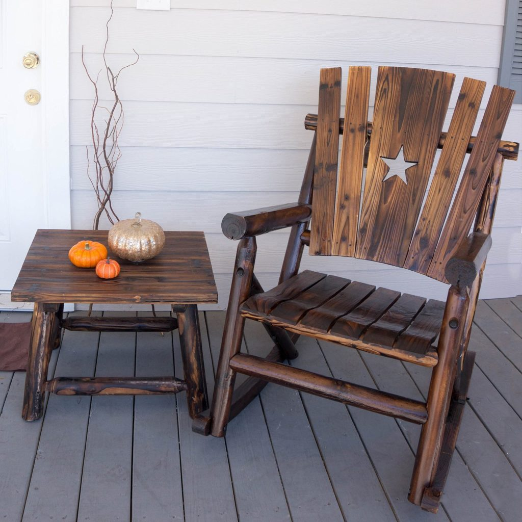 Wood Porch Rocking Chairs