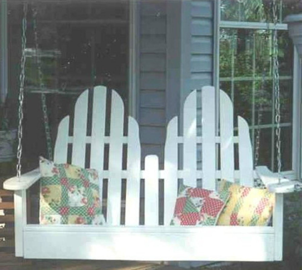 Adirondack Porch and Patio Swings