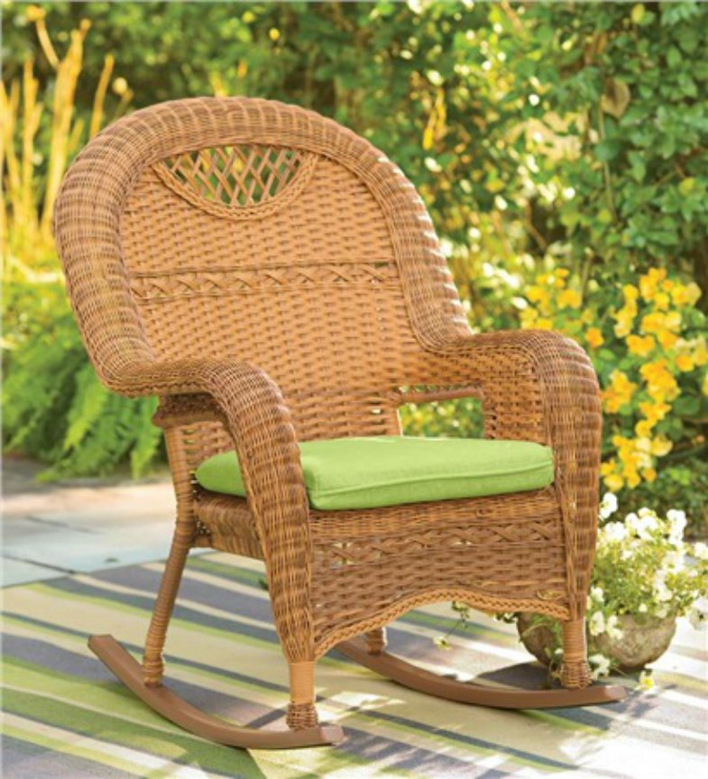 Outdoor All-Weather Wicker Chairs