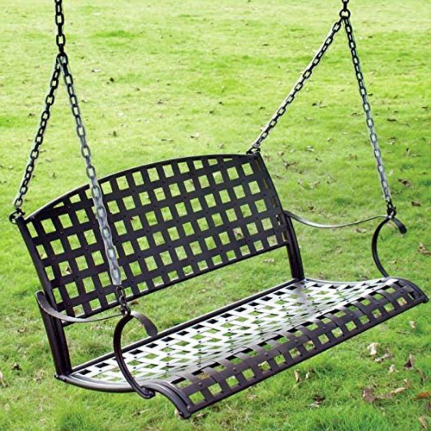Wrought Iron Patio Swings