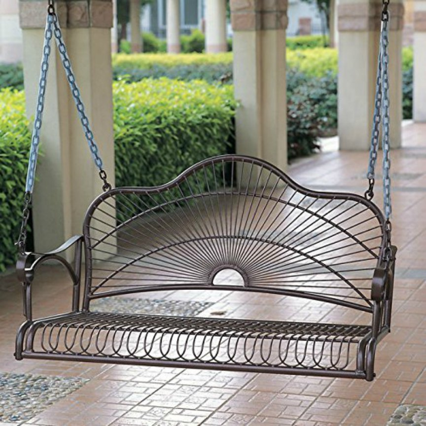 Wrought Iron Porch Swings