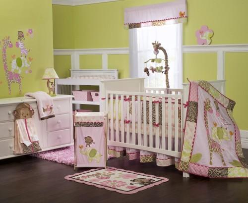 Carters Jungle Jill Crib Set