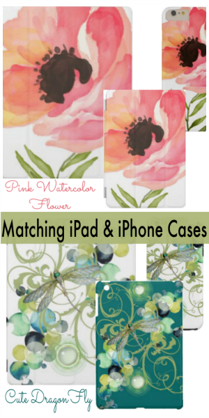 Matching iPad and iPhone Cases