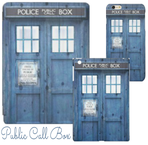 Public Call Box Matching iPad and iPhone Case