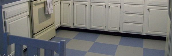 DIY Paint Your Vinyl Floor: No More Excuses For Ugly Floors