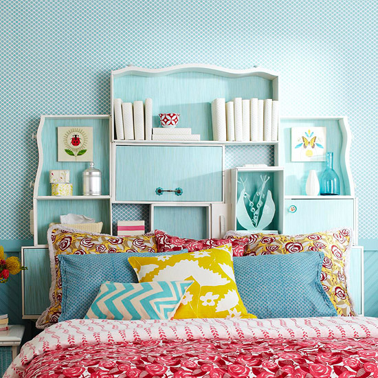 diy storage headboard for kids 4