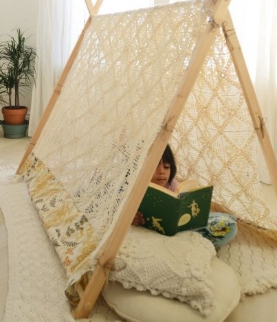 DIY Kids Play Tent: Create A Tent Your Kids Dream Of Having