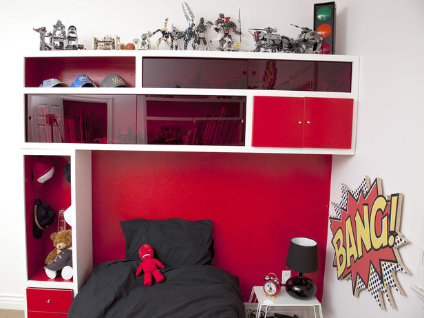 Diy Storage Headboard For Kids Bedroom And Personalize It