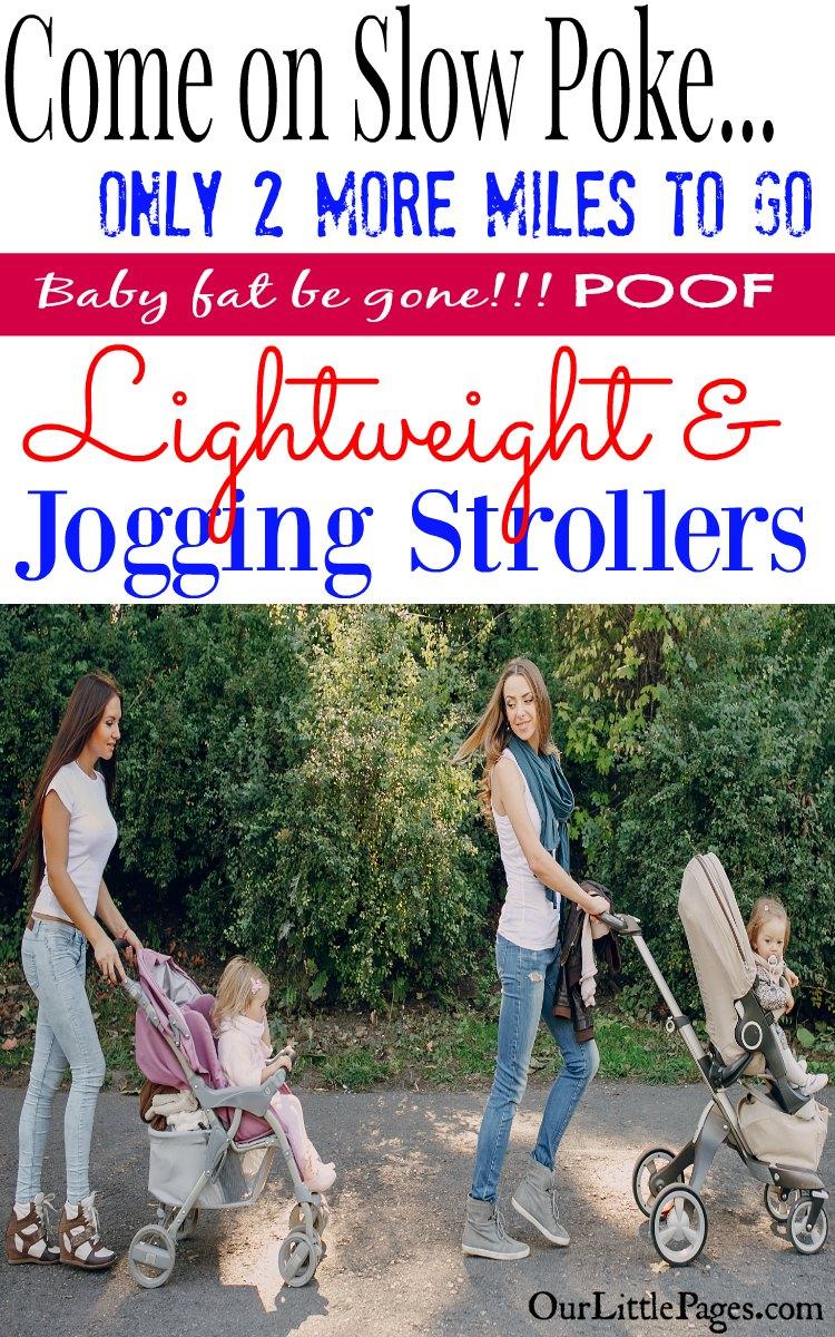 Jogging Stroller - Baby Fat Be Gone