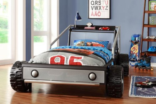 50 Car Themed Bedroom Ideas For Kids Boys Accessories: Race Car Bedroom Ideas: Kids Perfect Racing Bedroom