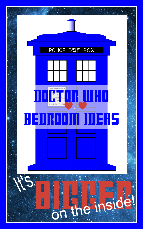 doctor who bedroom ideas and accessories any fan will love