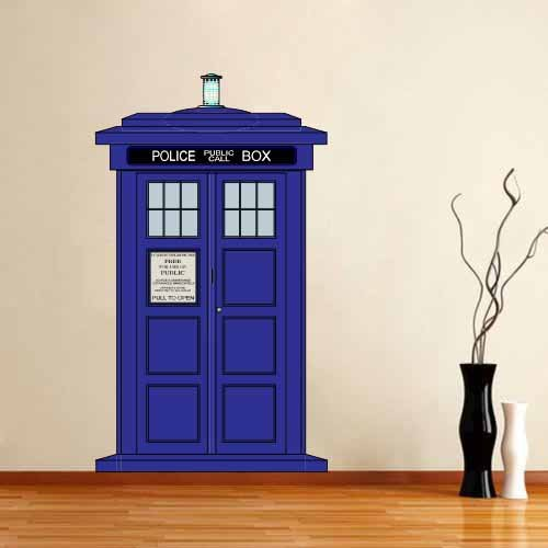 doctor who wall decals for serious doctor who fans. Black Bedroom Furniture Sets. Home Design Ideas