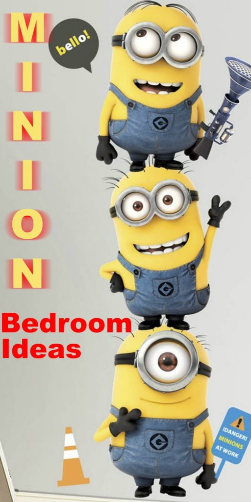 Minion Bedroom Ideas - Find all you need to create the perfect Minion bedroom for kids and adults.