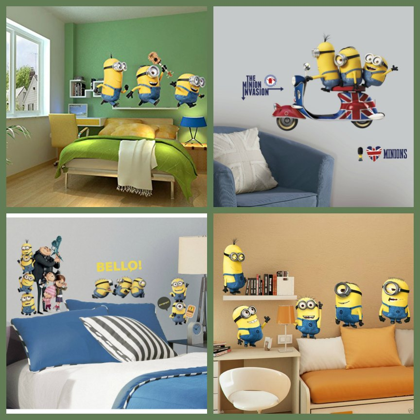 minion room decor minion bedroom decor from despicable me 12408