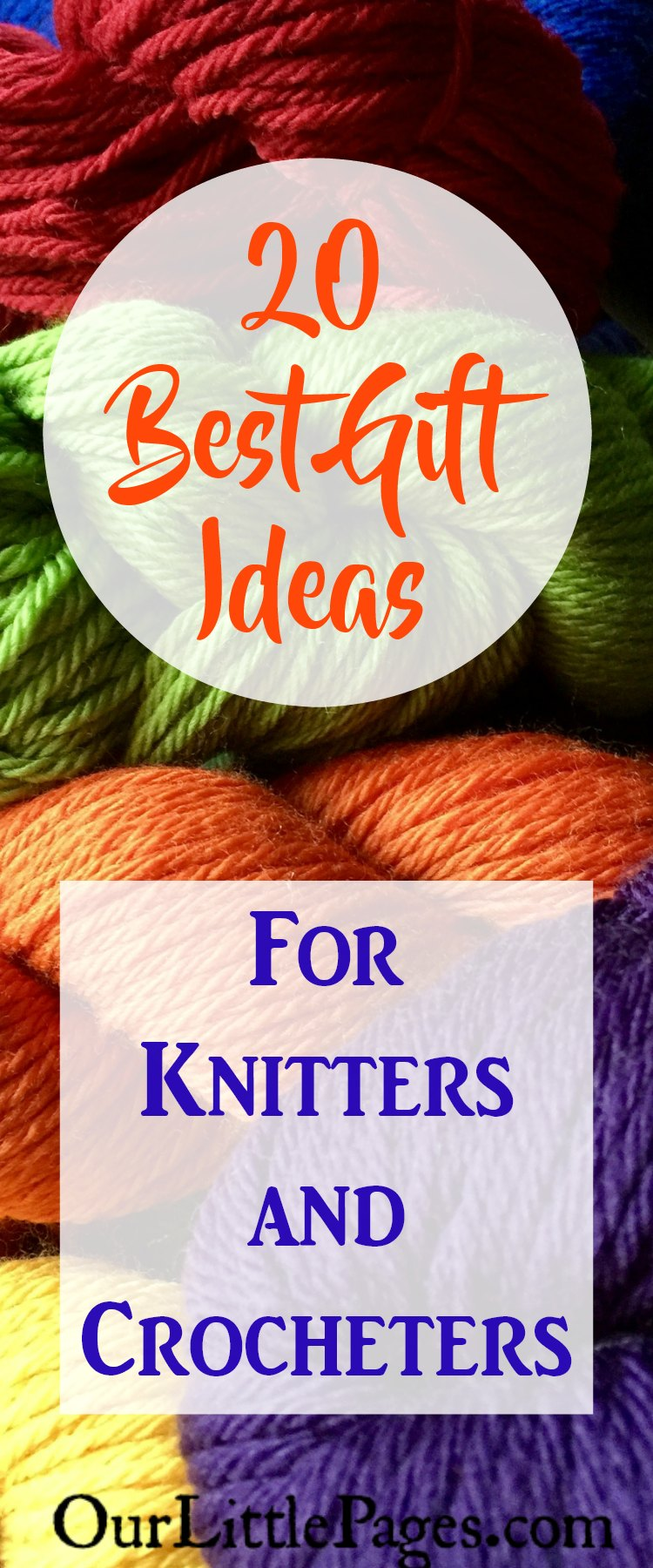 20 Best Gift Ideas for Knitters and Crocheters